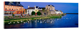 Acrylic print  Co Galway in Ireland - The Irish Image Collection
