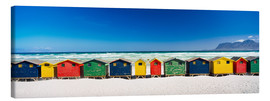 Canvas print  Beach hut - Ian Cuming