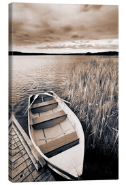 Canvas print  Boat on Lake Burntstick - Darwin Wiggett
