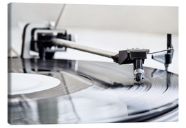 Canvas print  turntable - Filtergrafia