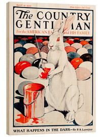 Wood print  Cover of Country (White Rabbit) - Remsberg