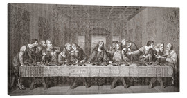 Canvas print  The Last Supper After Leonardo Da Vinci - Ken Welsh