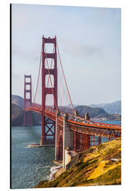 Aluminium print  Golden Gate Bridge in San Francisco - Leah Bignell