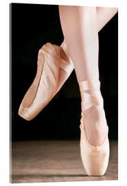 Acrylic print  Ballet Dancer En Pointe - Don Hammond
