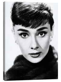 Canvas print  Audrey Hepburn as Sabrina