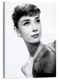 Canvas print  Audrey Hepburn as Ondine