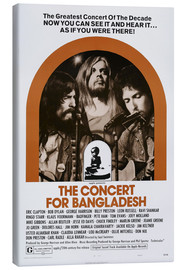 Canvas print  THE CONCERT FOR BANGLADESH