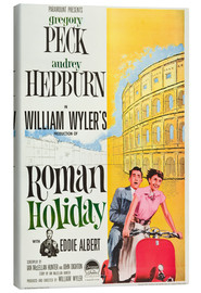 Canvas print  Roman Holiday