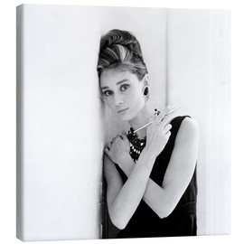Canvas print  Breakfast at Tiffany's