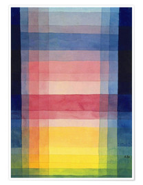 Premium poster  Architecture of the plain - Paul Klee
