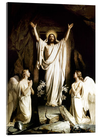Acrylic print  The resurrection - Carl Bloch