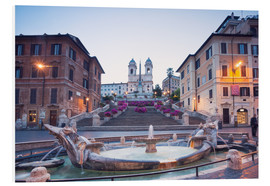 Foam board print  Spanish Steps, Rome - Matteo Colombo