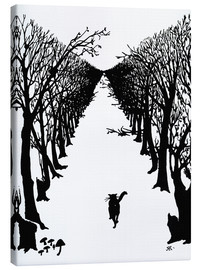 Canvas print  The cat that walked by himself - Rudyard Kipling
