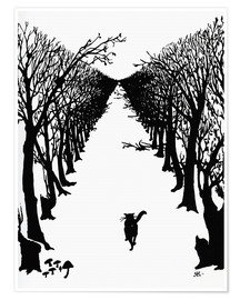 Premium poster  The cat that walked by himself - Rudyard Kipling