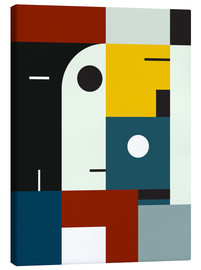 Canvas print  Bauhaus age - THE USUAL DESIGNERS