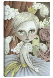 Canvas print  In a moonlit dream - Amalia K.