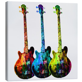 Canvas print  Guitars - Mark Ashkenazi