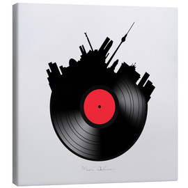 Canvas print  Berlin record - Mark Ashkenazi