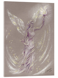 Acrylic print  Angel of Hope - Marita Zacharias