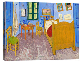 Canvas print  Vincent's bedroom, Arles - Vincent van Gogh