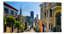 Acrylic print  Streets of San Francisco - Michael Rucker