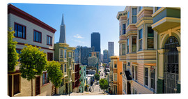 Canvas print  Streets of San Francisco - Michael Rucker