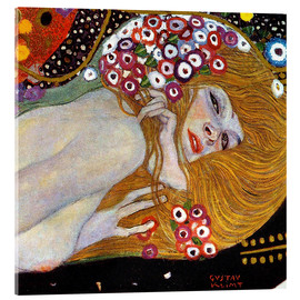 Acrylic print  Water Serpents II (detail) - Gustav Klimt