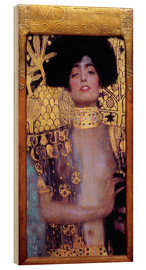 Wood print  Judith and Holofernes - Gustav Klimt