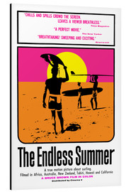 Aluminium print  The Endless Summer - Entertainment Collection