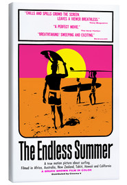 Canvas print  The Endless Summer - Entertainment Collection