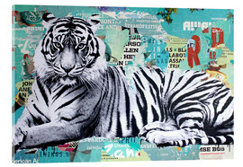 Acrylic print  Tigerstyle - Michiel Folkers