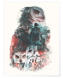Premium poster  The Owls are Not What They Seem - Barrett Biggers