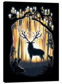Canvas print  The God of the forest - Barrett Biggers
