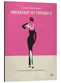 Aluminium print  Breakfast at Tiffany's - chungkong