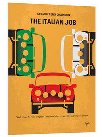 Foam board print  The Italian Job - chungkong