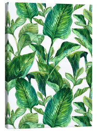 Canvas print  Tropical Leaves