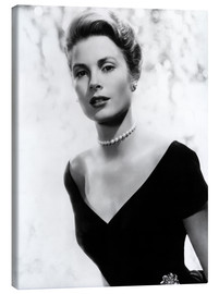 Canvas print  Grace Kelly in 1956