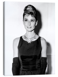 Canvas print  Audrey Hepburn in Breakfast at Tiffany's