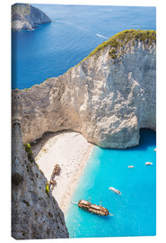 Canvas print  Shipwreck beach on Zakynthos - Matteo Colombo