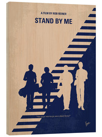 Wood print  Stand by me - chungkong