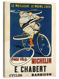Canvas print  Bicycle tires Michelin - H.L. Roowy