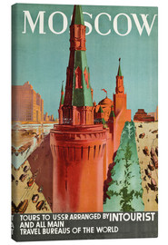 Canvas print  Moscow - Anonym