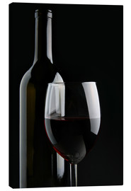Canvas print  Good red wine