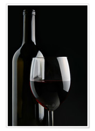 Premium poster  Good red wine