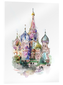 Acrylic print  St. Basil's Cathedral