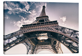 Canvas print  Paris - up to the sky and back