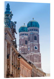 Acrylic print  The Frauenkirche in Munich
