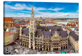 Canvas print  Town hall of Munich