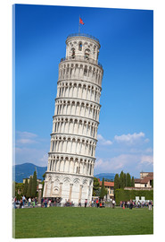 Acrylic print  Leaning tower of Pisa, Italy