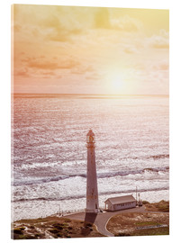 Acrylic print  Morning glow at the lighthouse